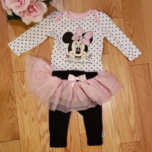 Disney Minnie Mouse 2piece Matching Set